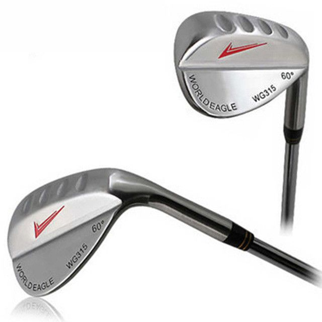 INSTOCK 1 Piece New Men Spin Milled Golf Wedges 60 Degree High Quality Stainless Steel Golf Clubs Wedges Silver
