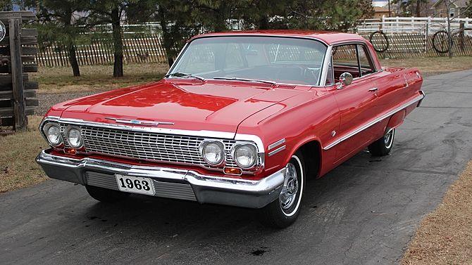 1963 Chevrolet Impala SS 327/300 HP, 4-Speed