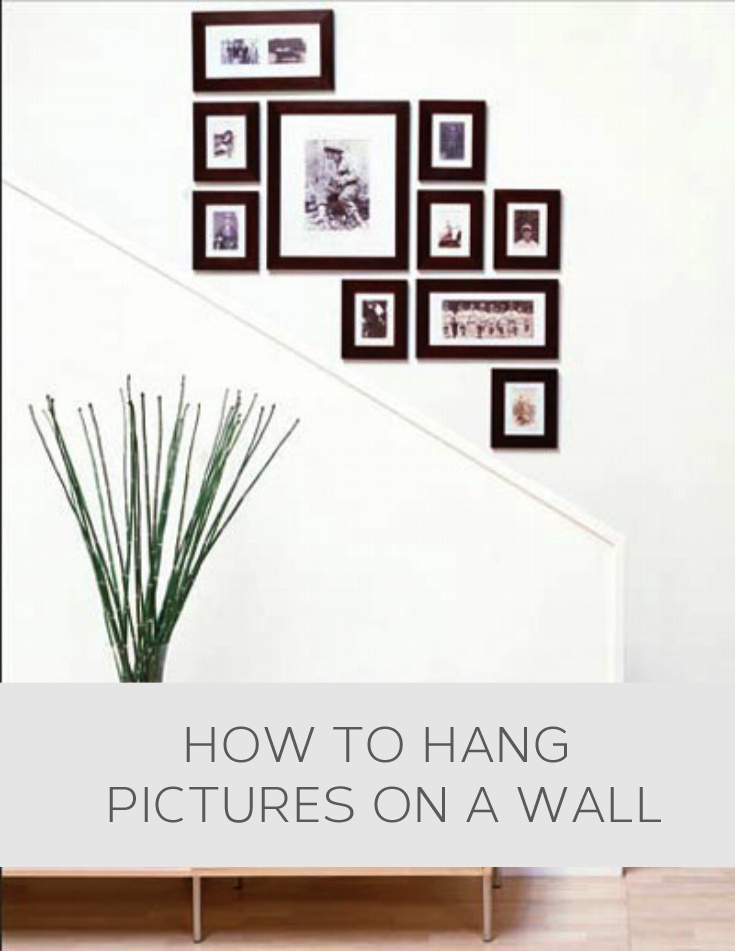 How to hang pictures on a wall home decor pinterest - Hanging pictures on walls ...
