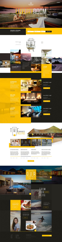 LUXURYROOM酒店网站设计,来源自黄蜂网http://woofeng.cn/