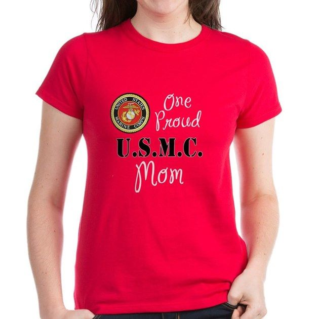 Mothers of Marines are very proud Moms. They are proud of their sons or daughters who are US Marines. The official seal of the Marine Corps is perfect on a red, blue, or green t-shirt. Great gift idea