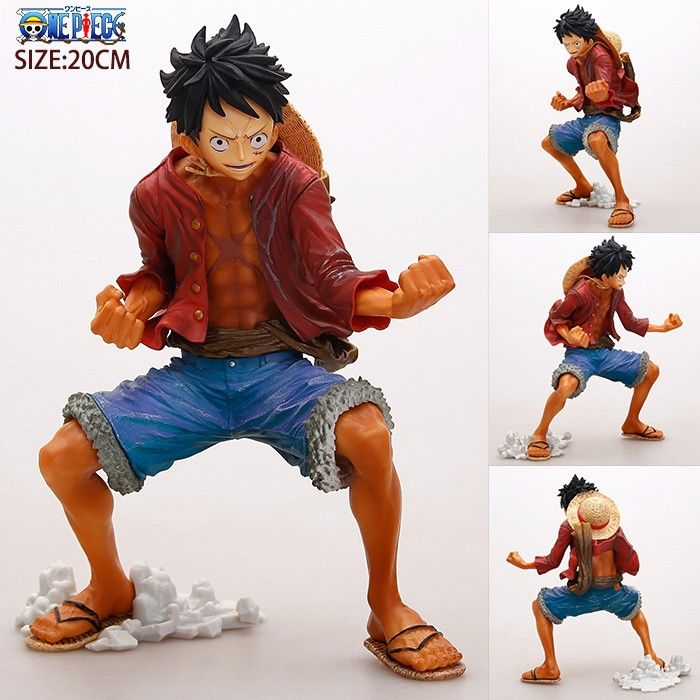 17.19$  Watch here - http://alim5v.shopchina.info/1/go.php?t=32614372281 - SAINTGI Japan One Piece Figure Luffy New World Anime Figuarts Zero Monkey D Figure Japanese PVC 18CM Boxed LimitGarage  #aliexpress