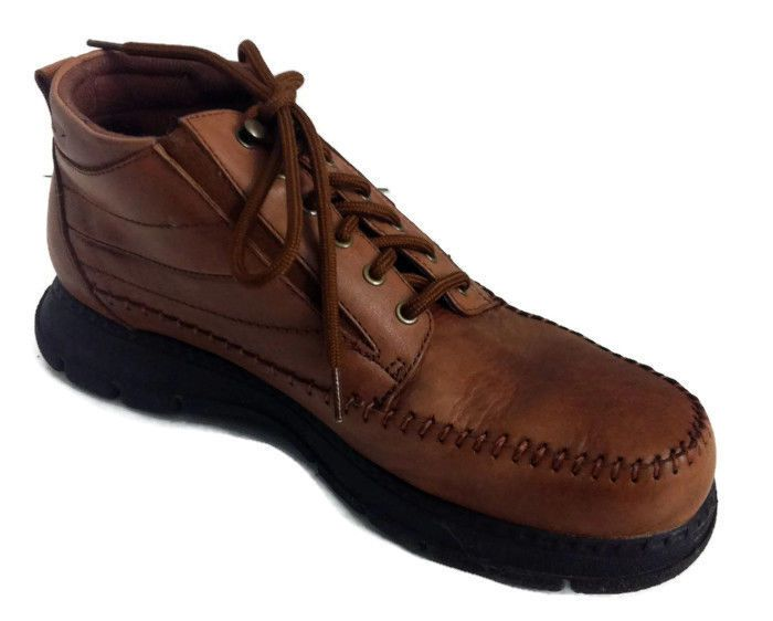 Dr Scholls Womens 9m Brown Leather Casual Ankle Boots