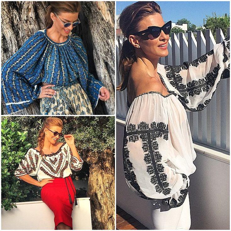 Fabulous embroidery..romanian blouse..must have<3 #romanianblouse #Ramona Filip