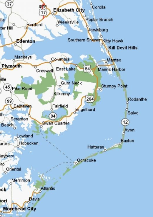 The North Carolina Outer Banks