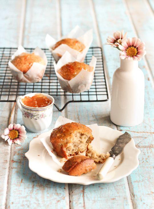 Earl Grey & Poppy Seed Muffins.Food Style, Grey Poppies, Poppyseed Muffins, Poppies Seeds Muffins, Cupcakes Misspeat, Earl Grey, Marmalade Glaze, Earlgrey, Raspberries Cupcakes