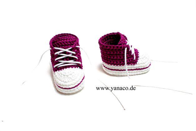 12,99€, Babyschuhe, beere, crochet, gehäkelt,Babyshoes, DIY