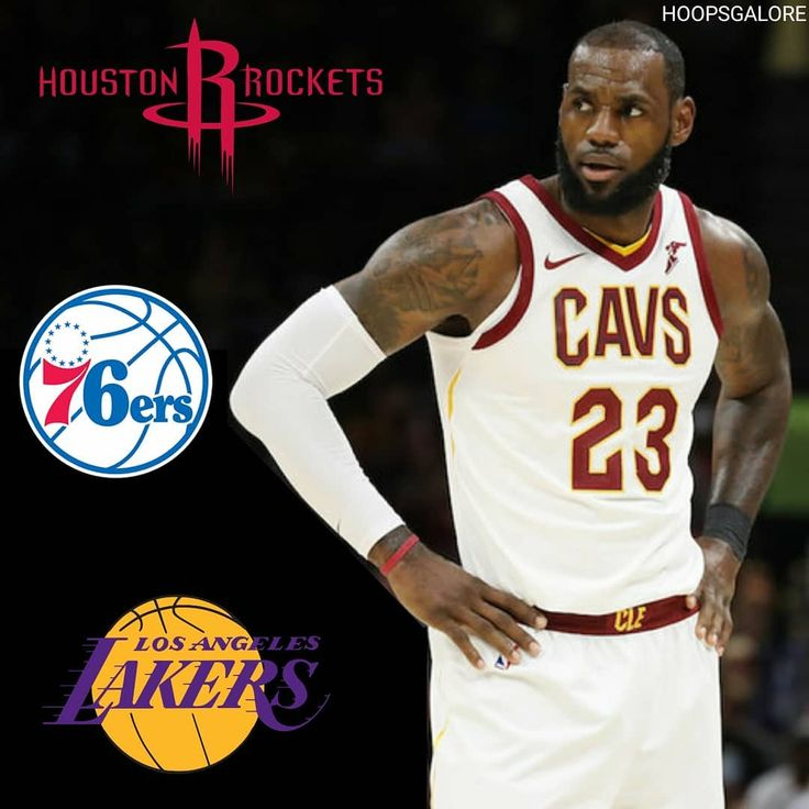 The 4 teams on LeBron's free agency list: Cavs Rockets Sixers & Lakers  Which team do you think LeBron will be with next season? - - (via Kevin O'Conner/The Ringer) #hoopsgalore #lebron #kingjames #lbj #cavs #cavaliers #rockets #Lakers #sixers #76ers #theprocess #chosen1