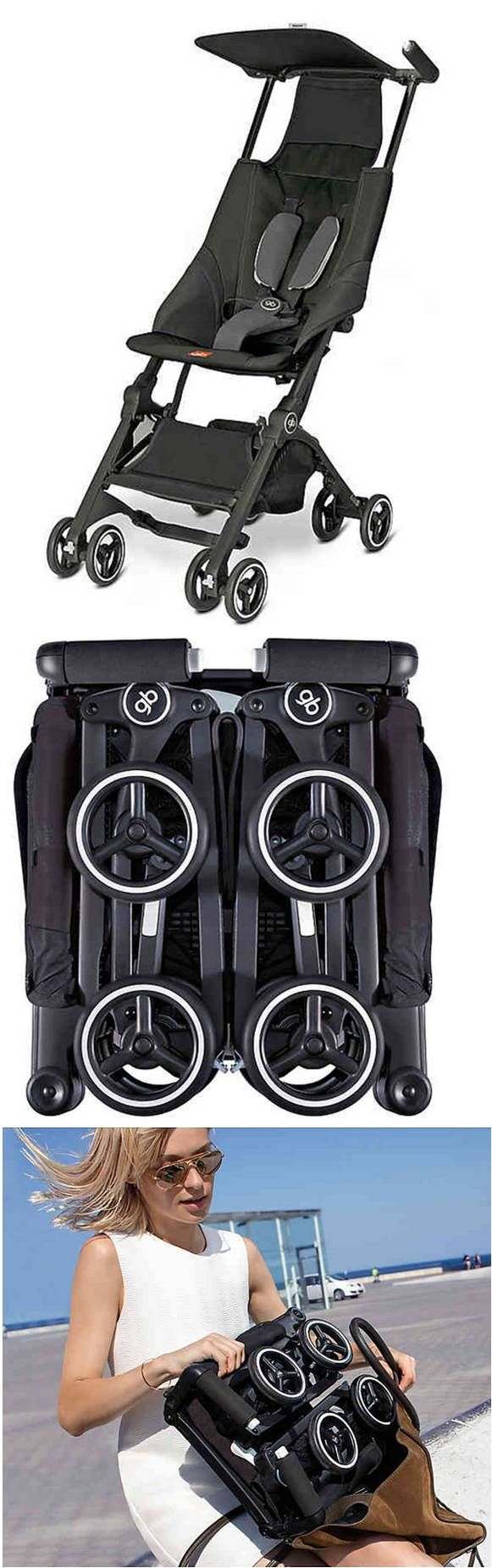 GB Pockit Stroller in Monument Black Gb pockit stroller