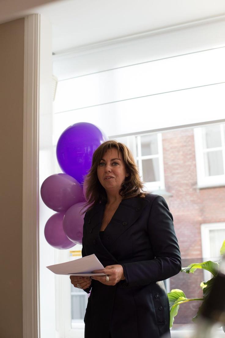 Our director, Ellen de Waal, gave an emotional speech!