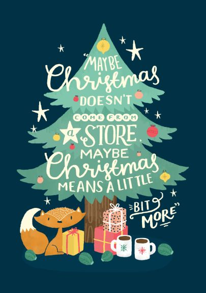Steph Baxter: Private Commission: Christmas Card on Behance