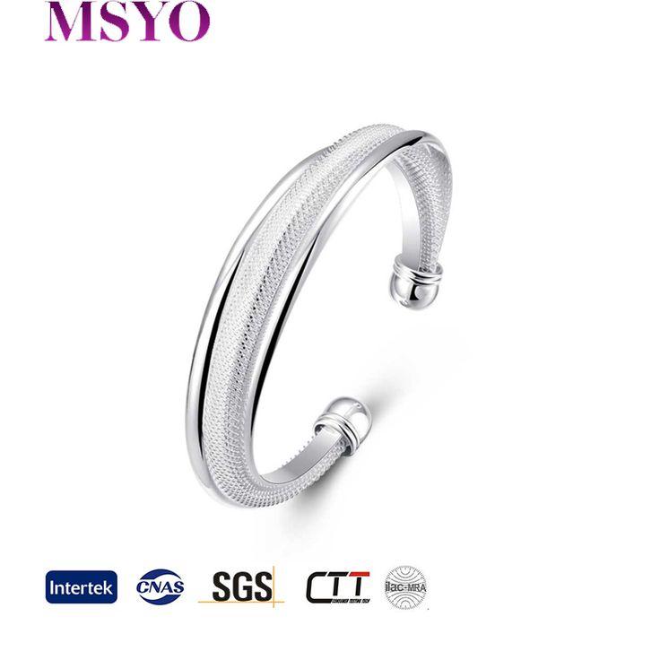 MSYO brand Wholesale wedding jewelry design new trendy 925 silver artificial jewellery