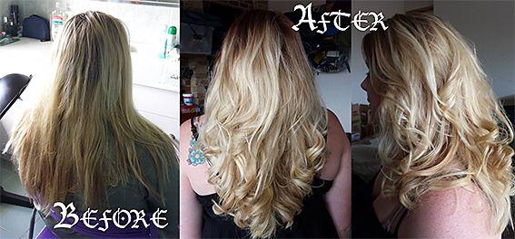 Pearl Blonde with Intensified Blonde, hairserenity