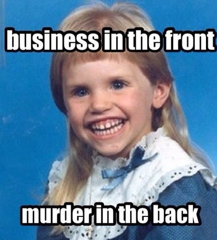 Lol those teeth