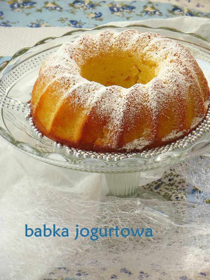 Secret way to the kitchen: Babka jogurtowa - wilgotna i delikatna