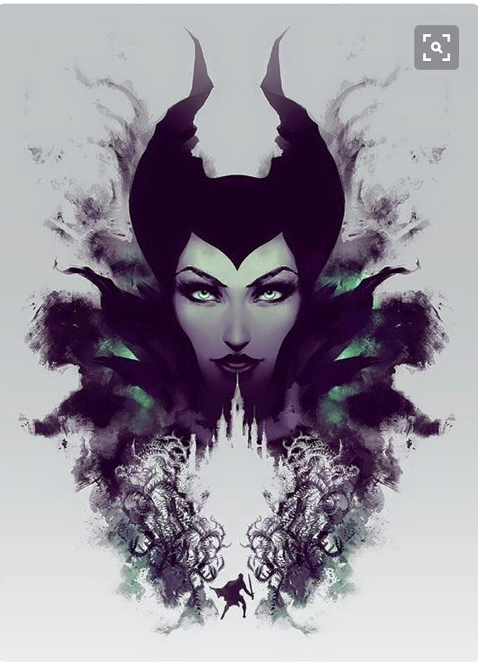 Best Maleficent Disney Images On Pinterest Disney Villains - Artist brings disney villains to life in eerily realistic illustrations