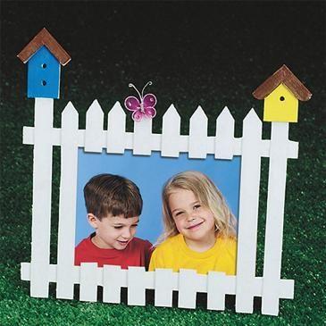 Picket Fence Frame Craft Kit (makes 12)