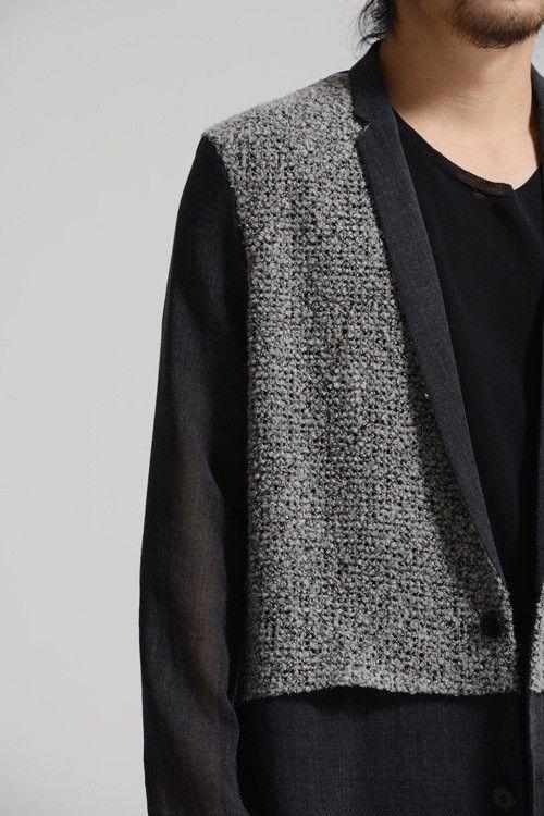 Zweireiher Designer Slim Fit Wollmantel Herren Mantel Slim Fit - Unique Fashion www.vantouch.de