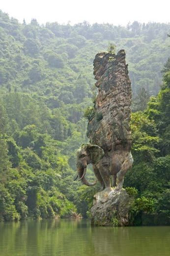 Mountain Sculpture India - another one for the bucket list...