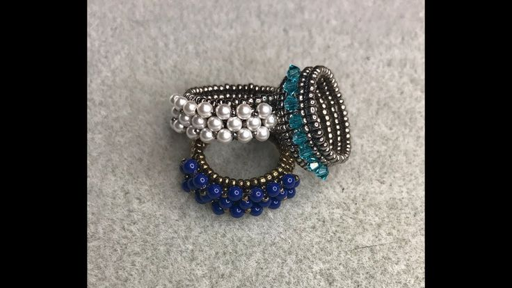 Corona Ring also has a matching earring (separate video)