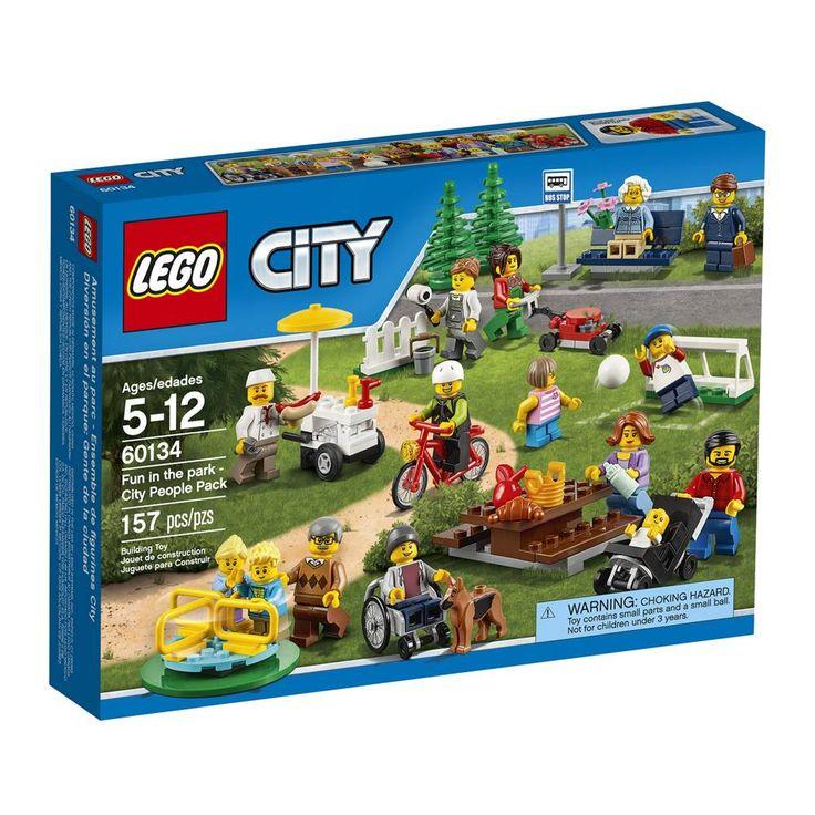 COMPRA Lego city diversion en el parque gente de la ciudad 157 piezas al mejor precio   Walmart Tienda en Línea