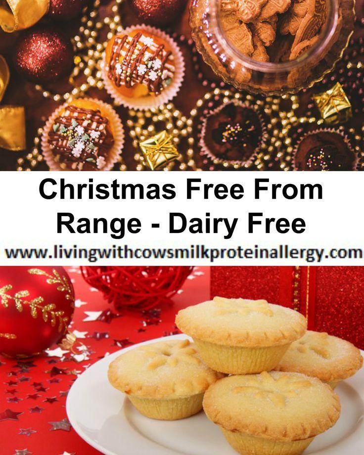 Dairy Free Christmas Food Shopping List, Christmas Free From Range, Morrison's Tesco Sainsbury's Waitrose Asda Aldi Ocado, gluten free, wheat free soya free