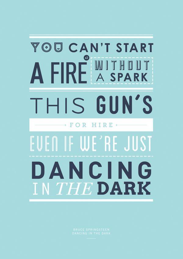 bruce springsteen | dancing in the dark #lyrics