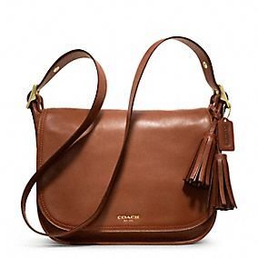 Coach | Legacy Leather Patricia - Brass/Cognac