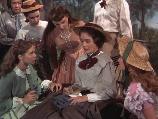 Mujercitas. June Allyson, Elizabeth Taylor, Peter Lawford ...