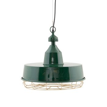 House Doctor - Gasby Lamp - Green/Brass