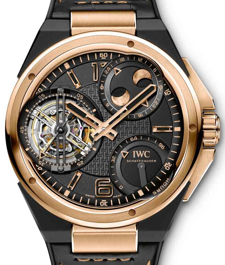 two new highly complicated iwc ingenieur watches in red gold for by david bredan