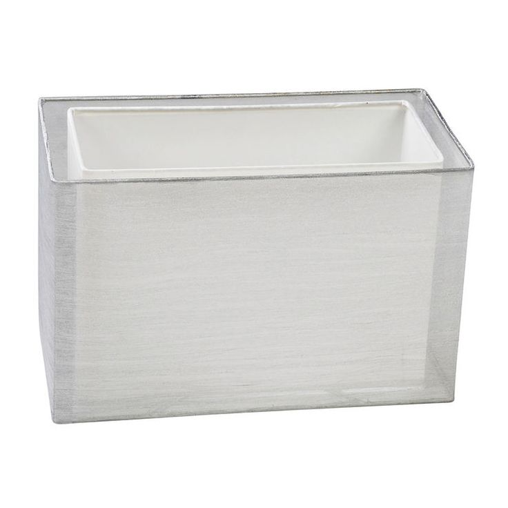 White Rectangle Lamp Shade 15x8x9.5