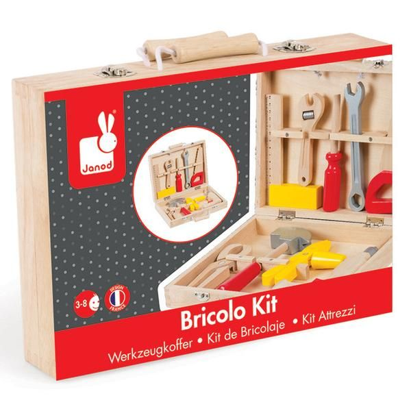 Bricolo  Wooden Tool Kit (Age 3 - 6 years)