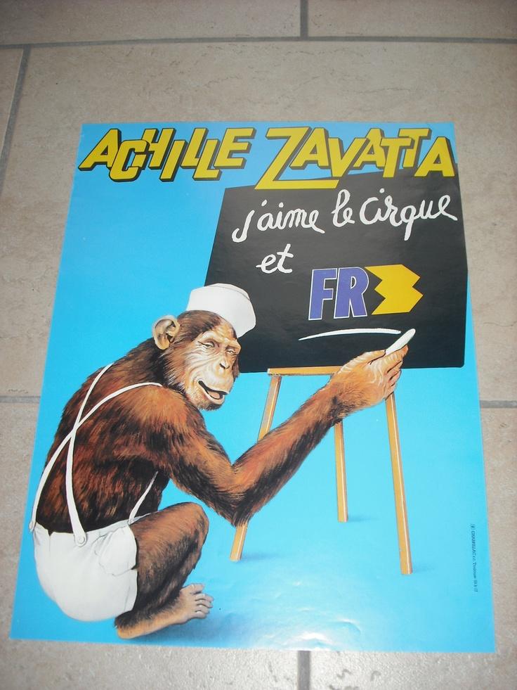 Ancienne Affiche Vintage Poster Cirque Circus Circo Zirkus Zavatta Achille | eBay