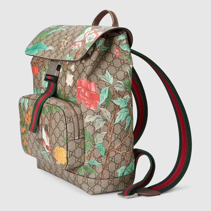 Gucci Gucci Tian GG Supreme backpack Detail 2