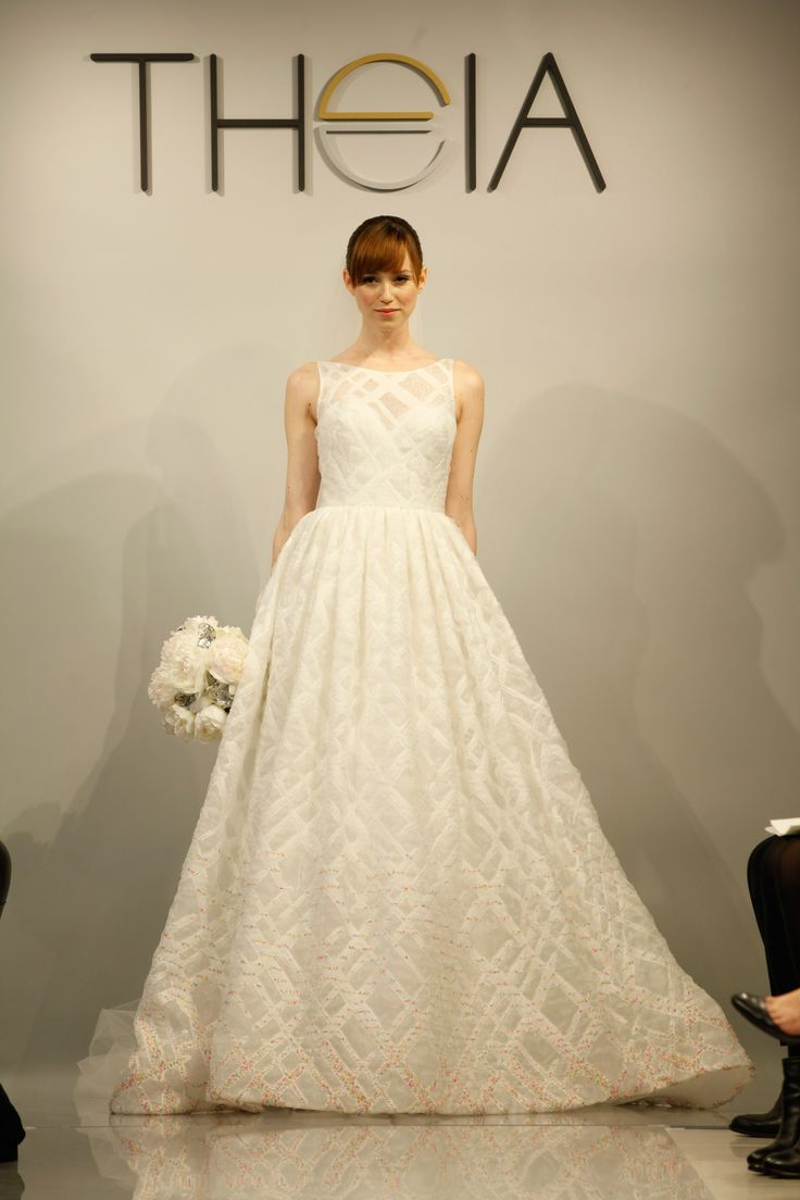 SS13 Theia White Collection wedding dress