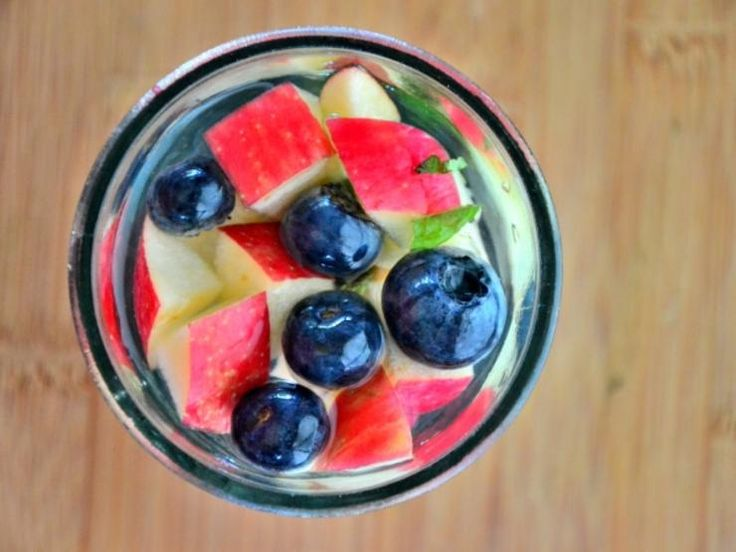 Blueberry, Tarragon, and Apple Water http://www.prevention.com/food/cook/new-sassy-water-recipes/blueberry-tarragon-and-apple-water