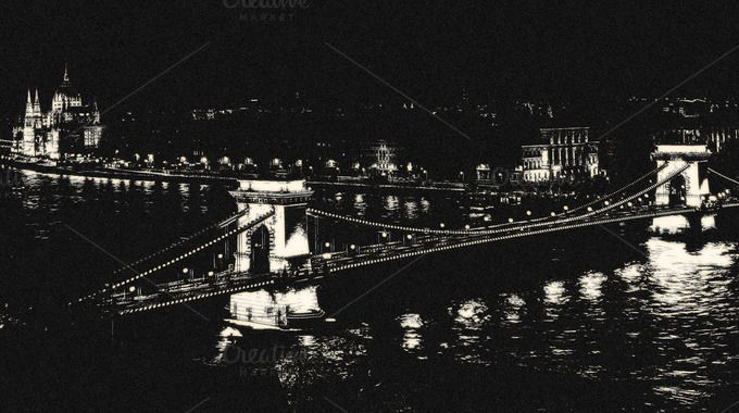 Vintage City Budapest by 89colors on Creative Market