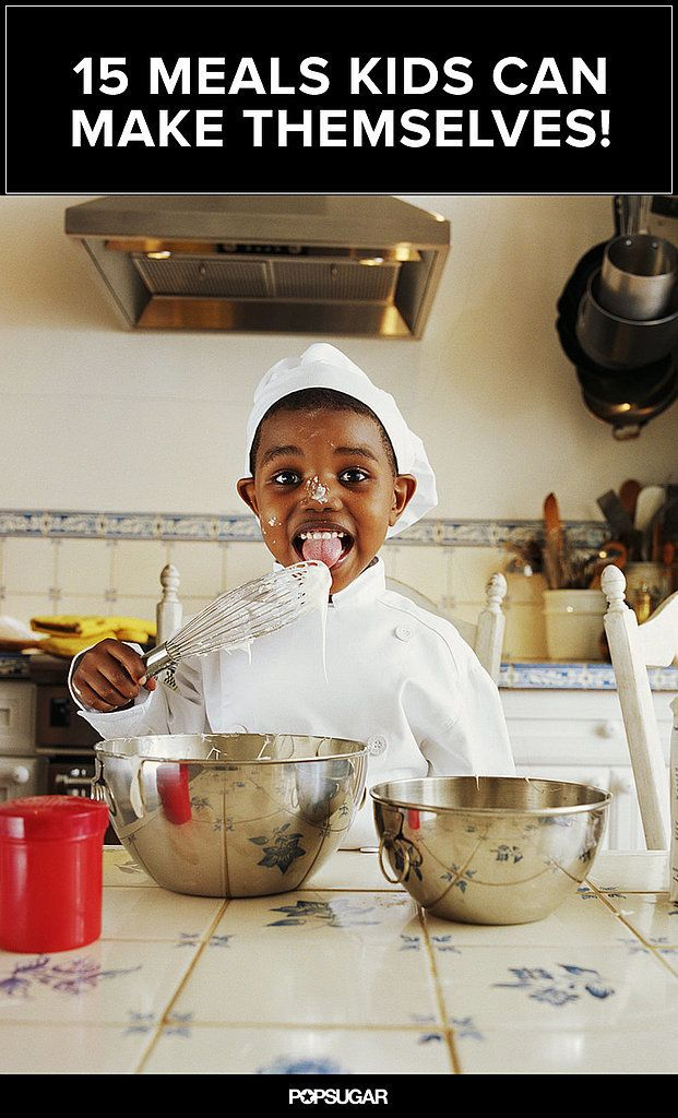 15 Fun Food Ideas Your Kids Can Make on Their Own