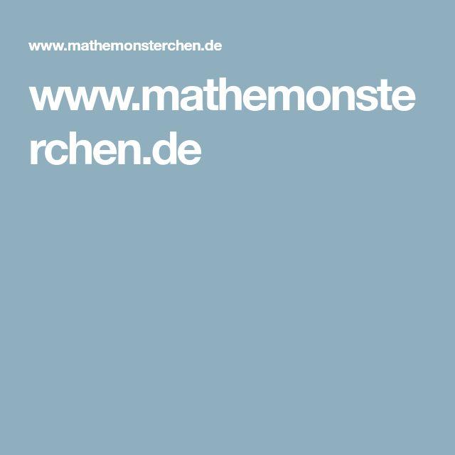 7 besten Mathematik Bilder auf Pinterest | Grundschulen, Vorschule ...