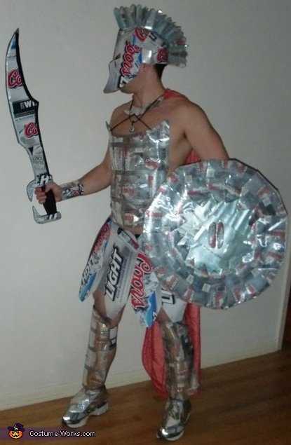 Coors Light Spartan Warrior - 2012 Halloween Costume Contest