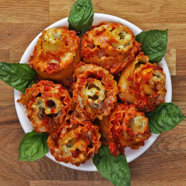Lasagna Roses Recipe by Tasty