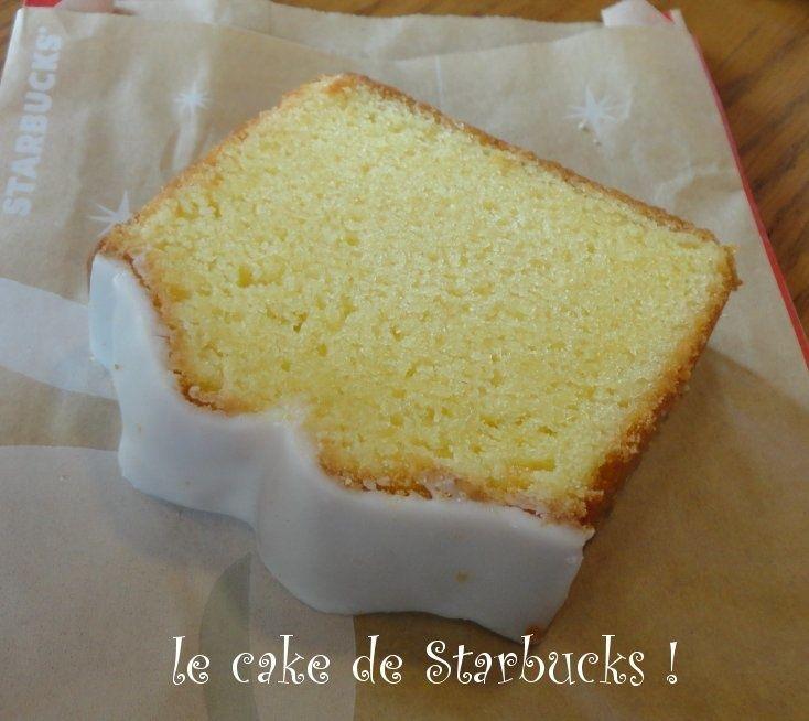 Lemon loaf Cake (comme celui de Starbucks !)