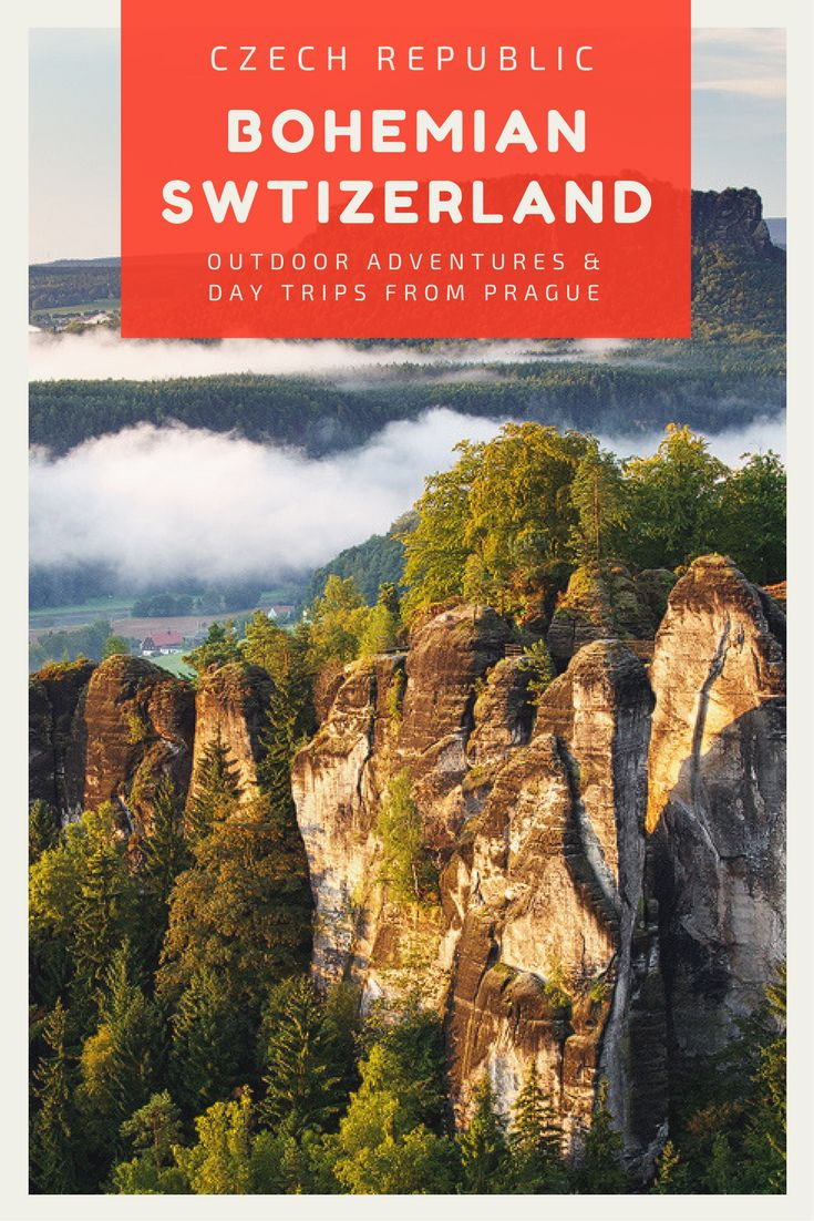 Hiking Day Trips from Prague: Hiking trips to the Bohemian Switzerland National Park in the Czech Republic. Click here for more info!