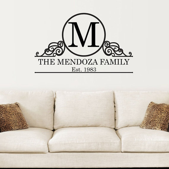 Best Make It Personal Images On Pinterest Adhesive Vinyl - Custom vinyl wall decals sayings for family roomitems similar to entry wall quote family wall decals home family