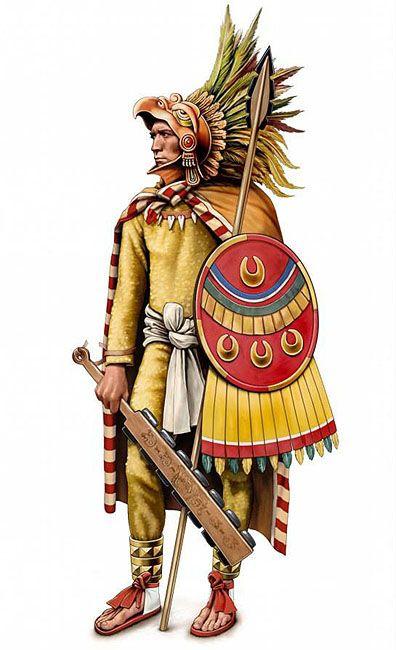 """""""Aztec Eagle Warrior"""", Jean-Michel Girard"""