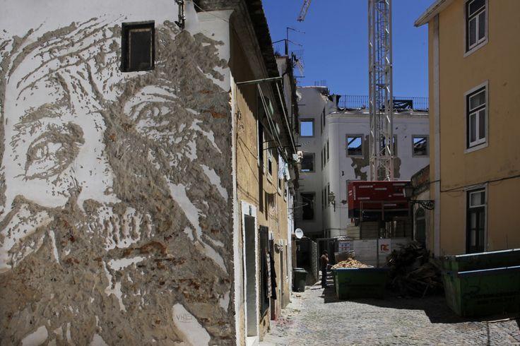 """Galería - Arte y Arquitectura: """"Scratching the Surface"""" por Vhils - 5"""