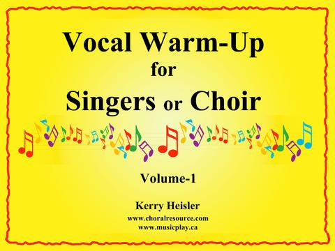 Vocal Warm-ups for Singers or Choir by Themes & Variations Inc