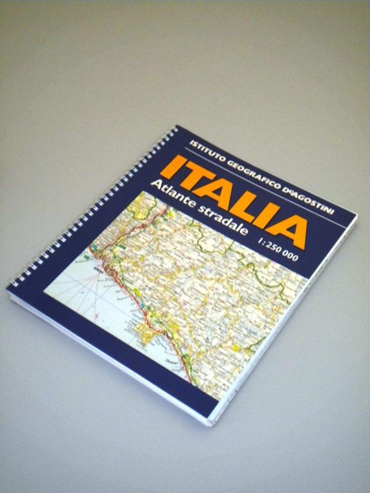 ATLANTE STRADALE D'ITALIA DE AGOSTINI