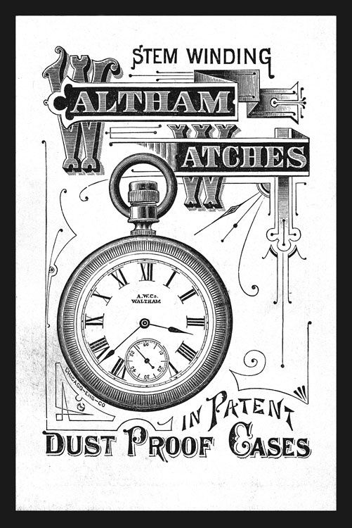 waltham � strickland vintage watches vintage watch ads